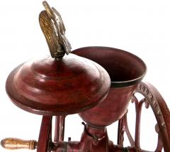 Elgin National Coffee Mill Cast Iron Coffee Grinder Elgin National Coffee Mill American Circa 1900 - 996291