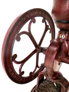 Elgin National Coffee Mill Cast Iron Coffee Grinder Elgin National Coffee Mill American Circa 1900 - 996294