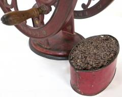 Elgin National Coffee Mill Cast Iron Coffee Grinder Elgin National Coffee Mill American Circa 1900 - 996296