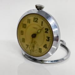 Elgin ROSPIN 7 Jewels Swiss Made Pocket Watch Antique Art Deco Travel Clock 1920s - 2026082