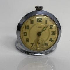 Elgin ROSPIN 7 Jewels Swiss Made Pocket Watch Antique Art Deco Travel Clock 1920s - 2026084