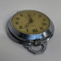 Elgin ROSPIN 7 Jewels Swiss Made Pocket Watch Antique Art Deco Travel Clock 1920s - 2026088