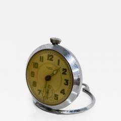 Elgin ROSPIN 7 Jewels Swiss Made Pocket Watch Antique Art Deco Travel Clock 1920s - 2028245