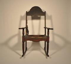 Eli Lurie Antiques John Hemings attrib Monticello Joinery Thomas Jeffersons Siesta Chair - 887376