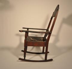 Eli Lurie Antiques John Hemings attrib Monticello Joinery Thomas Jeffersons Siesta Chair - 887378