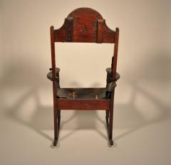 Eli Lurie Antiques John Hemings attrib Monticello Joinery Thomas Jeffersons Siesta Chair - 887383