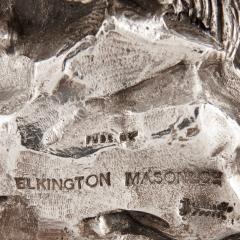 Elkington Co Pair of figural candelabra by Elkington Mason Co - 1577289