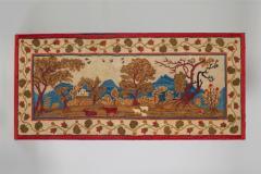 Elliott Grace Snyder Exceptional Yarn Sewn Rug c 1825 - 887231