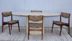 Ello Furniture Co 1970s Italian Travertine Oval Dining Table Attributed To Ello - 1354071