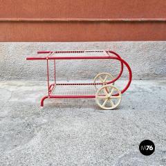 Emu Red metal food cart by Emu 1980s - 2135136
