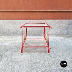 Emu Red metal food cart by Emu 1980s - 2135217