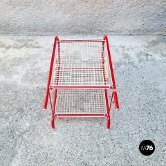 Emu Red metal food cart by Emu 1980s - 2135218