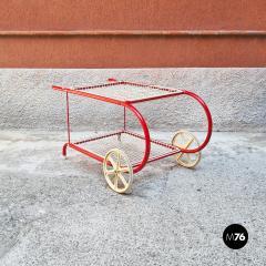 Emu Red metal food cart by Emu 1980s - 2135233