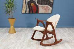 Exceptionnel Erhardsen Andersen Danish Modern Rocking Chair By Erhardsen Andersen    401841