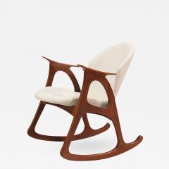 Erhardsen Andersen Danish Modern Rocking Chair By Erhardsen Andersen    403237