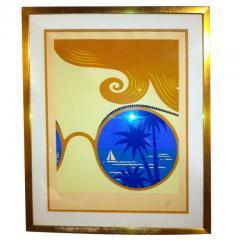 Ert Ert Artist Proof Winter Resort Nice Rare Size - 79242