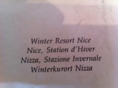 Ert Ert Artist Proof Winter Resort Nice Rare Size - 79243