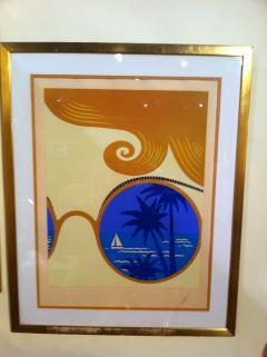 Ert Ert Artist Proof Winter Resort Nice Rare Size - 79244