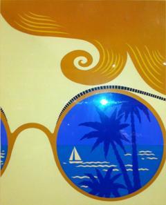 Ert Ert Artist Proof Winter Resort Nice Rare Size - 79315