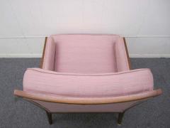 Erwin Lambeth Sophisticated Erwin Lambeth Walnut Lounge Chair Mid Century Modern - 1862375