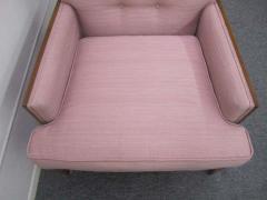 Erwin Lambeth Sophisticated Erwin Lambeth Walnut Lounge Chair Mid Century Modern - 1862379