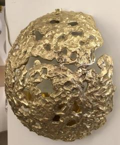 Esperia Cast Bronze Meteorite Wall Lights by Esperia - 226109