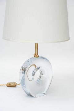 Esperia Pair of Unique Table Lamps in Murano Glass by Esperia for Glustin Luminaires - 894593