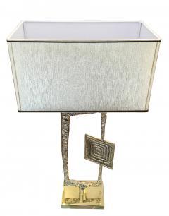 Esperia Sculptural Cast Bronze Tea Table Lamps by Esperia - 209941