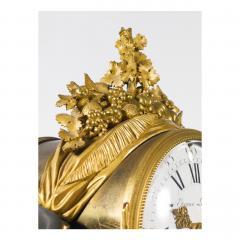 Etienne Lenoir Louis XVI style gilt and patinated bronze Mantel Clock by tienne LeNoir - 2034511
