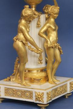 Etienne Maxant c 1885 French 3 Graces Annular Clock - 1276311
