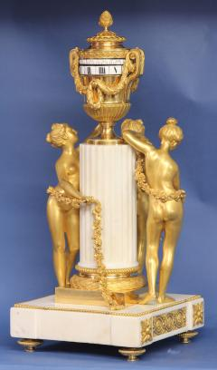 Etienne Maxant c 1885 French 3 Graces Annular Clock - 1276313