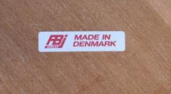 FBJ M bler FBJ M bler Danish Modern Magazine Stand Side Table in Teak - 1240362