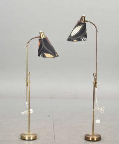 Falkenberg A Pair of Floor Lamps Produced by Falkenberg Sweden - 112395