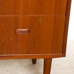Falster FALSTER Teak Highboy Dresser Chest on Peg Legs Scandia 1960s Denmark - 2018850