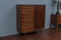 Falster Svend Madsen Rosewood Tall Chest for Falster Maobelfabrick - 1344012
