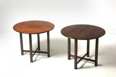 Fatima Arquitetura Mid Century Modern Pair of Side Tables by Fatima Arquitetura Brazil 1960s - 1433669