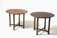 Fatima Arquitetura Mid Century Modern Pair of Side Tables by Fatima Arquitetura Brazil 1960s - 1433670