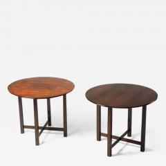 Fatima Arquitetura Mid Century Modern Pair of Side Tables by Fatima Arquitetura Brazil 1960s - 1434017