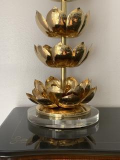 Feldman Lighting Co Brass Lotus Lamp - 1049062