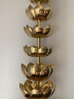 Feldman Lighting Co Brass Lotus Lamp - 1049063