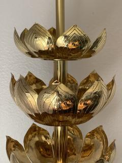 Feldman Lighting Co Brass Lotus Lamp - 1049068