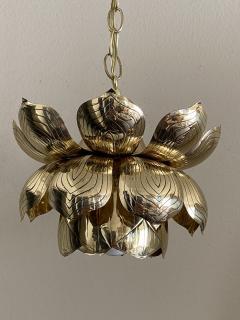Feldman Lighting Co Brass Lotus Pendent Light - 2048944