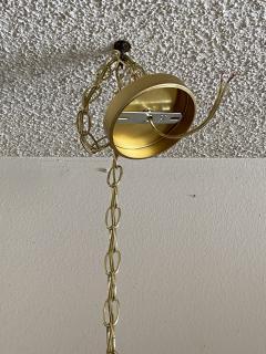 Feldman Lighting Co Brass Lotus Pendent Light - 2048948
