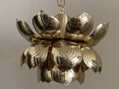Feldman Lighting Co Brass Lotus Pendent Light - 2048950