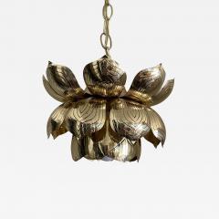 Feldman Lighting Co Brass Lotus Pendent Light - 2050020