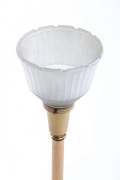 Feldman Lighting Co Feldman White Capiz Shell and Brass Table Lamp circa 1960 - 1975508