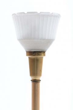 Feldman Lighting Co Feldman White Capiz Shell and Brass Table Lamp circa 1960 - 1975509
