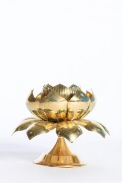 Feldman Lighting Co Large Centerpiece Lotus Candle Holders Pair Available - 1088886
