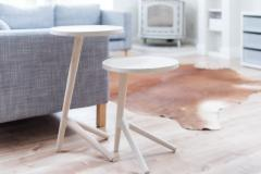 Fernweh Woodworking THE TRIPOD TABLE WHITE ASH - 1411235