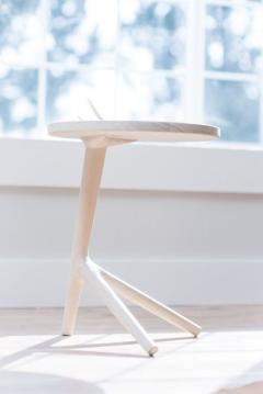 Fernweh Woodworking THE TRIPOD TABLE WHITE ASH - 1411246